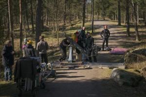 Valo- grippiosaaminen sai täydennystä ruotsinkielisen lyhärin teossa huhtikuussa